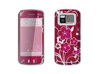 Butterfly Decal Skin Cover Case For Nokia N97 Phone New
