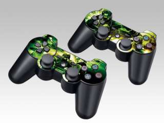 NEW Vinyl Skin Decal Sticker 4 PS3 Slim /PS3 Controller