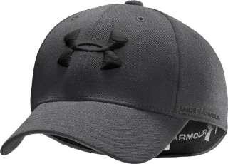 UNDER ARMOUR HEATGEAR STRETCH FIT CAP HAT 1217895 UA LOGO M/L & L/XL