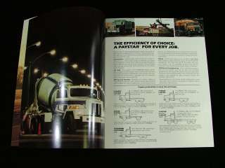 1981 International Paystar 5000 Series Truck Brochure