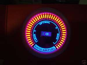 52mm PLASMA DISPLAY AIR/FUEL RATIO GAUGE