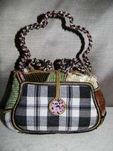 Mary Frances Beaded Evening Bag Purse Handbag