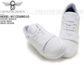 Creative Recreation Mens shoes Cesario Lo White