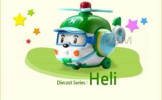 Toypark]Robocar Poli Combo Poli+Roi+Amber+Heli, Diecast figures