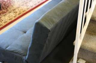 Brand New Black Sofa Bed Futon College Dorm Low Profile