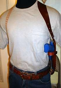 LEATHER SHOULDER HOLSTER 4 4 TAURUS 41/38/357 revolver