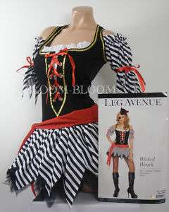 Wicked Wench Leg Avenue Halloween Costume SM, ML