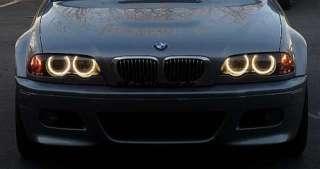 CCFL Neon Angel Eyes Set Kit BMW e46 Orange OEM