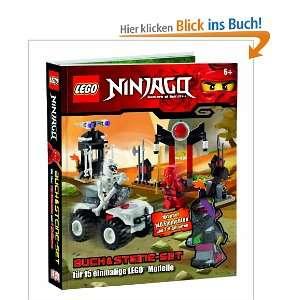 LEGO Ninjago Buch & Steine Set für 15 einmalige LEGO Modelle