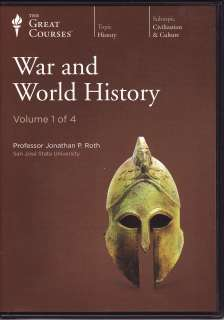 War and World History   Teaching Company Audio CD Course