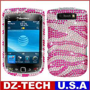 Bling Hard Case Cover for BlackBerry Torch 9810 9800 Accessory