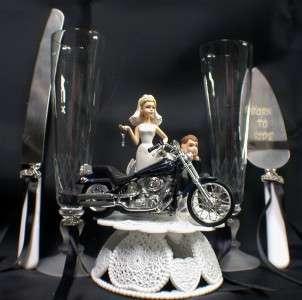 Motorcycle Wedding Cake Knife