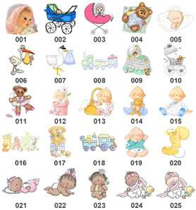 Baby Shower Personalized THANK YOU SCROLLS ~ Assembled