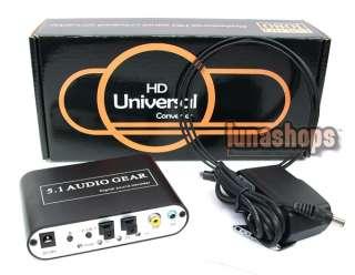 Digital Surround Sound Audio HD Rush Gear Decoder