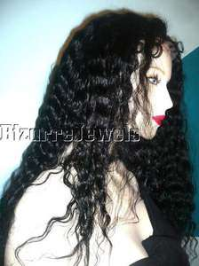 Hair Remi Remy FULL Lace Wig Wigs #1 High Quality any Texture