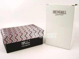 Mens Gents Fashion Watch, Tie & Cufflink Gift Set Pink