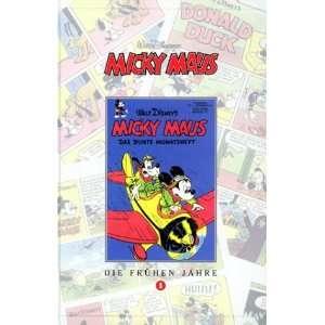 Micky Maus, Bücher, Die frühen Jahre, Bd.1  Walt Disney