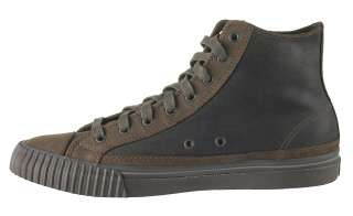 Sneakers Center Hi PM11CH3A Chocolate Brown leather Shoes