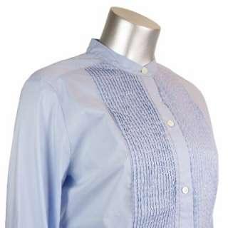 Sutton Studio Womens Cotton Stretch Tunic Button Shirt