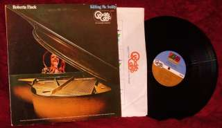 LP ROBERTA FLACK KILLING ME SOFTLY 1973 ATLANTIC QUADRAPHONIC