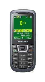 Samsung C3212 Duos Dual Sim Unlocked Sim Free Mobile Phone Dark Silver