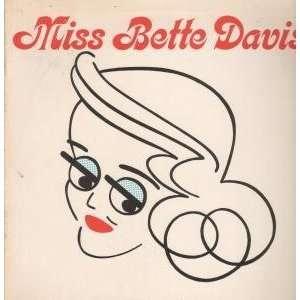 MISS LP (VINYL) UK EMI 1976: BETTE DAVIS: Music