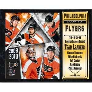 Encore Select 520 HKYPHI2010 2010 Philadelphia Flyers 12x15 Stat