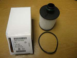 GENUINE VAUXHALL INSIGNIA DIESEL ENGINE OIL FILTER 55577033
