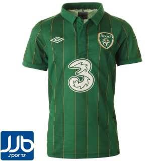 Republic of Ireland Home Shirt 2011/2012 SS (Junior)