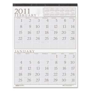 House of Doolittle Two Month Illustrated Wall Calendar