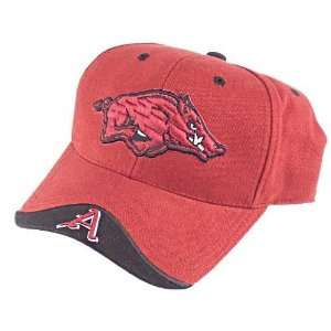 Arkansas Razorbacks Maroon Iceberg Adjustable Hat:  Sports