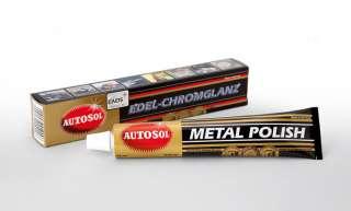 AUTOSOL SOLVOL CHROME ALUMINIUM METAL POLISH (CARS/BIKES/HOME)