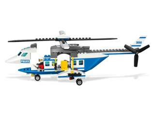 Brand Korea Lego City Police 3658 Figures Sets toys Police Helicopter
