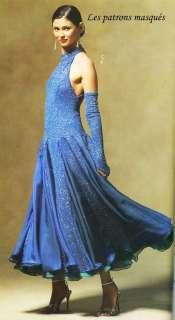 M 5136 Patron Robes danse latine T40 46