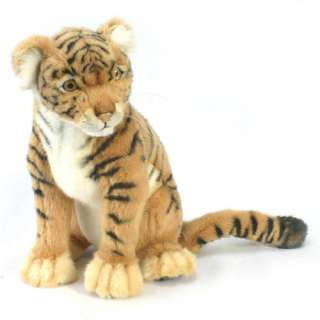 Seated Tiger Cub   Hansa Toys   Lions & Other Big Cats   FAO Schwarz