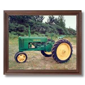 1939 John Deere Farm Tractor Picture Framed Art Print
