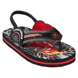 Toddler Boys Cars Sandal   Black.Opens in a new window
