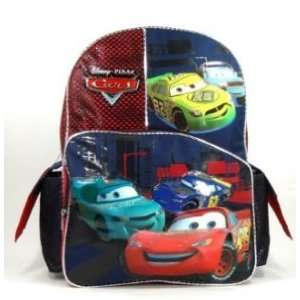 Disney Pixar Cars Photo Finish Large Childrens Backpack