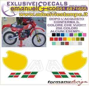 KIT ADESIVI DECAL APRILIA RC 50 80