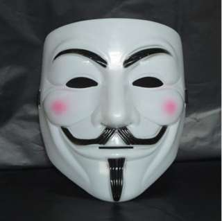 MASCHERA V FOR VENDETTA halloween mask carnevale GUY FAWKES