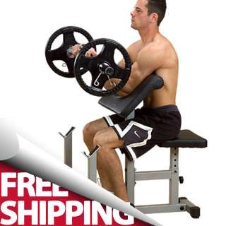 POWERLINE Preacher Curl Bench PPB32X by Body Solid
