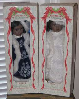 Tuss Cracker Barrel Musical Dolls Dynasty Camilia AA