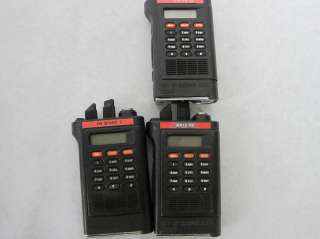Lot 7 Motorola Saber H99QX+065H Handie Talkie FM Two Way Handheld