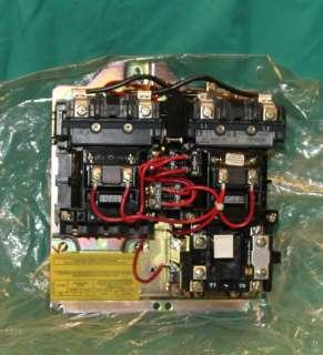 Allen Bradley 505 BOX B0X 92 Reversing Contactor Starter Relay size 1
