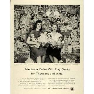 1957 Ad Santas Helpers Bell Telephone System Carolyn M Kraatz Arlene P