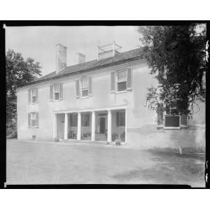 Photo Tudor Hall, Leonardtown, St. Marys County, Maryland