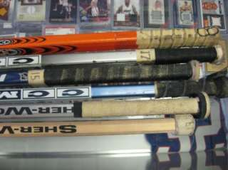 Used Hockey Sticks ADAM OATES Auto MeiGray COA Steve Eminger