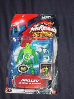CHILLER Operation Overdrive Power Rangers Action Figure