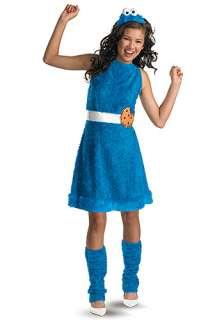 Teen Girls Cookie Monster Costume   Sesame Street Costumes for Teenage