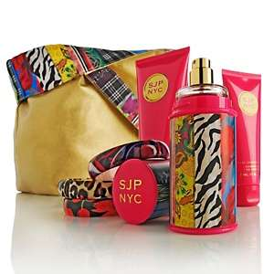Jessica Parker SJP NYC Fragrance Set with Bangles and Tote at HSN